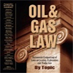 Oil & Gas Law Book by Topic